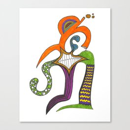 A Personality Personified Canvas Print