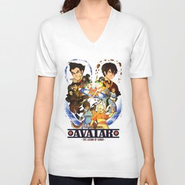 Team Avatar Unisex V-Neck