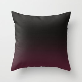 Faded Background, Burgundy, Color Change Throw Pillow