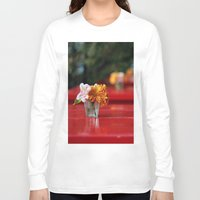 aperture Long Sleeve T-shirts featuring The red table by Nina's clicks