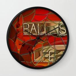 ball si life Wall Clock