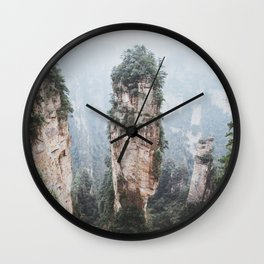 Zhangjiejia National Forest Park Wall Clock