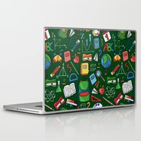 backpack Laptop & iPad Skins featuring Back to school by Julia Badeeva