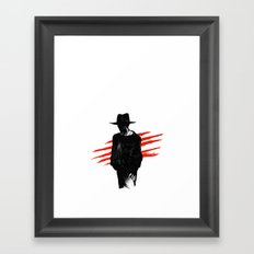 The Man of Your Dreams Framed Art Print