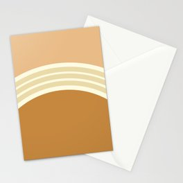 one day –earthen clay layers 2 Stationery Cards