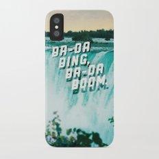 Ba-da Bing, Ba-da Boom. iPhone X Slim Case