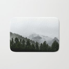 misty mountain #society6 #decor #buyart #homedecor Bath Mat