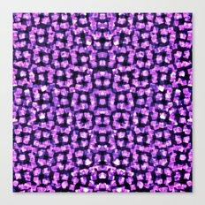 Purple Garden Maze Canvas Print