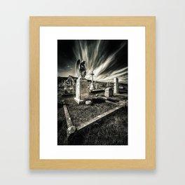 Great Orme Graveyard Framed Art Print