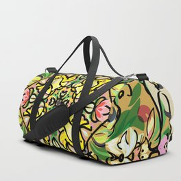 Easter bunny and chick 2 Duffle Bag