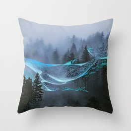 Whale Music Throw Pillow