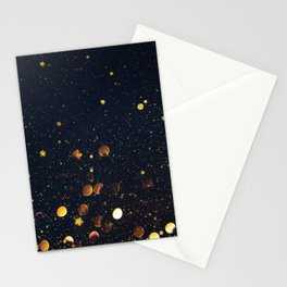 Pennies and Stars Falling From Heaven Stationery Cards
