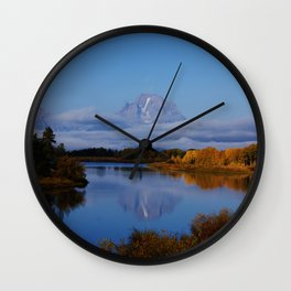 Reflected Splendor Wall Clock