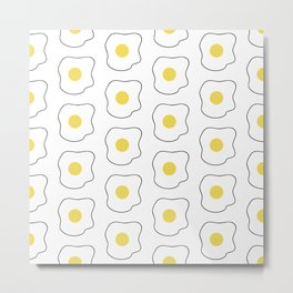 Fried Egg Metal Print