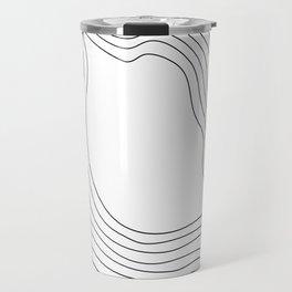 Linear abstraction #1 Travel Mug