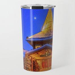 Santa's Home. Travel Mug