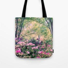 In the garden! Tote Bag