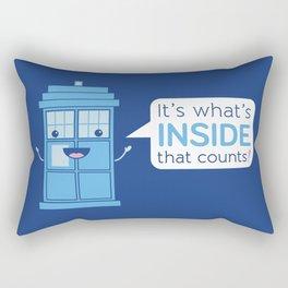 Bigger on the Inside Rectangular Pillow