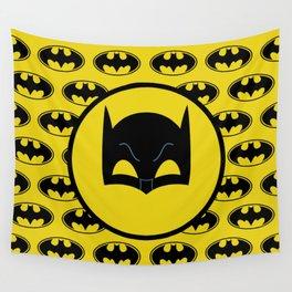Super Hero Bat Shield Wall Tapestry