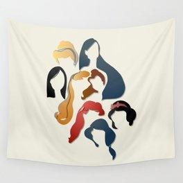 Royal Hair Wall Tapestry