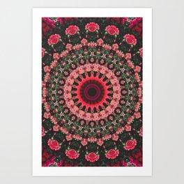 Spiritual Rhythm Mandala Art Print