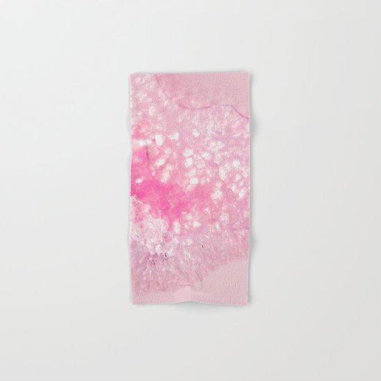 Pink Ice Hand & Bath Towel