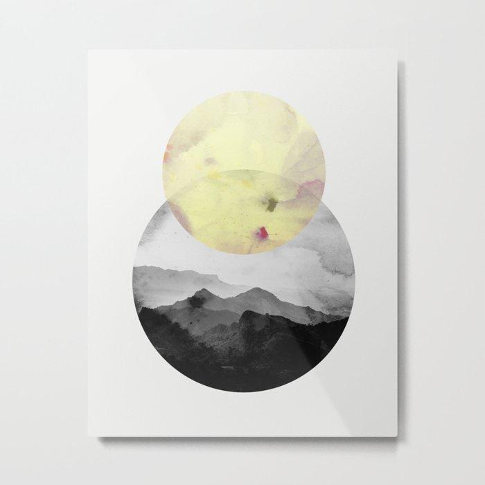 landscape montain nature Metal Print
