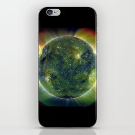The SUN by Solar Dynamics Observatory satellite Print iPhone Skin