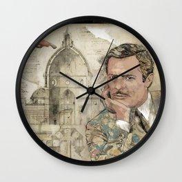 Marcello and Sophia Wall Clock