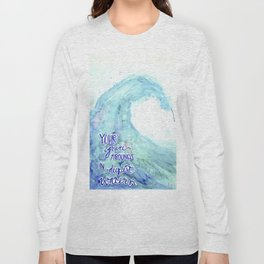 Grace Abounds In Deepest Waters Long Sleeve T-shirt