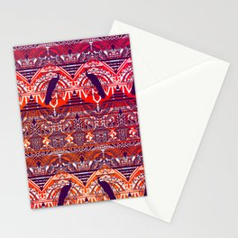 Peacock Patterm Stationery Cards