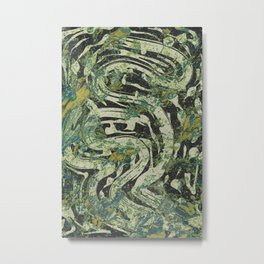 Pattern № 87 Metal Print