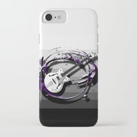 bass iPhone & iPod Cases featuring Music - Bass by yahtz designs