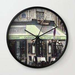 Paris - Restaurant Wall Clock