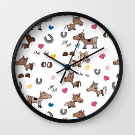 Clip Clop Wall Clock