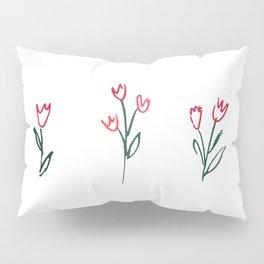 Tulip Garden Pillow Sham
