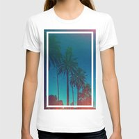 los angeles T-shirts featuring Los Angeles. by Daniel Montero