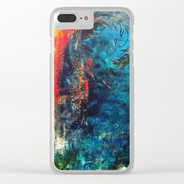 Flame of the Forest Clear iPhone Case