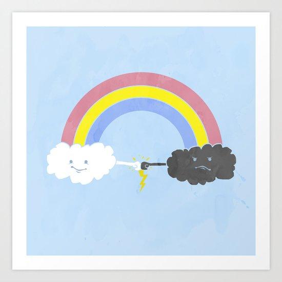 rain bros Art Print