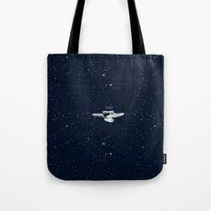 Star trek Star ship Enterprise NCC-1701 Tote Bag