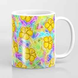 Hawaiian Yellow Flowers Coffee Mug