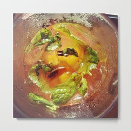 Strawberry Mojito  Metal Print