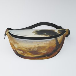 "J.M.W. Turner ""The Bay of Baiae, with Apollo and the Sibyl"" Fanny Pack"