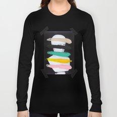 Untitled (Finger Paint 1) Long Sleeve T-shirt