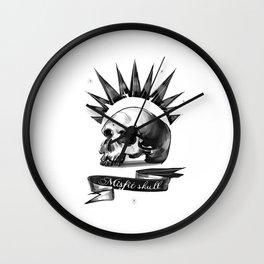 Chloe Price misfit skull Wall Clock