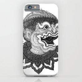 Hanuman iPhone Case