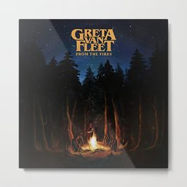 greta van fleet album from the fires Metal Print