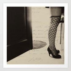 she's got legs Art Print