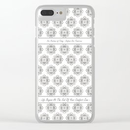 YOGA,Life Quotes,Buddha,HOME DECOR,4,Fitness,Yoga outfits,Backpacks,Dojo Bags,T-shirts,Leggings Clear iPhone Case