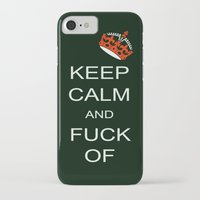keep calm iPhone & iPod Cases featuring keep calm by laika in cosmos